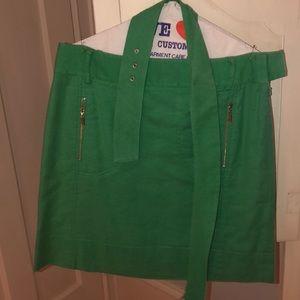 Green Tory Burch skirt
